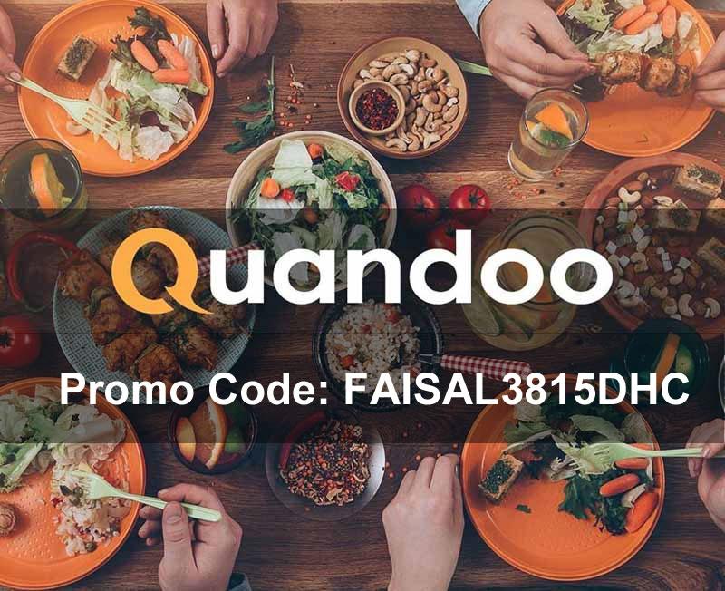 Quandoo Promo code : FAISAL3815DHC